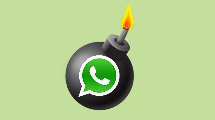 Los riesgos del uso del whatsapp