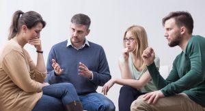 ¿Cómo funciona un grupo de apoyo tras el divorcio?