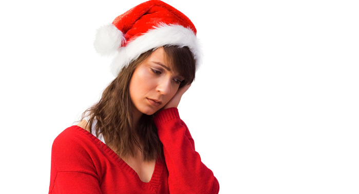 depresión navidad
