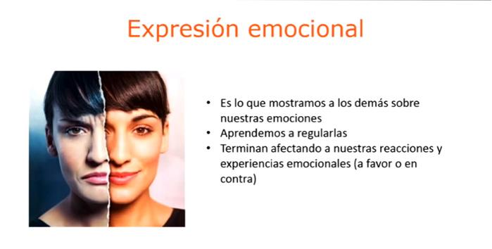 expresion emocional