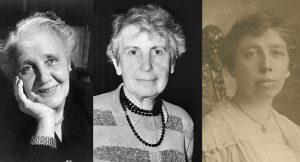 Mujeres pioneras en Psicología