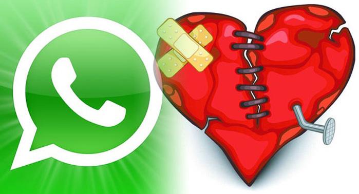 whatsapp y pareja