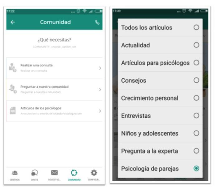 App Mundopsicólogos