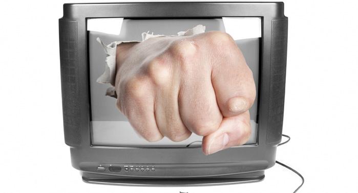 violencia audiovisual