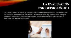 Técnicas objetivas en Evaluación Psicofisiológica