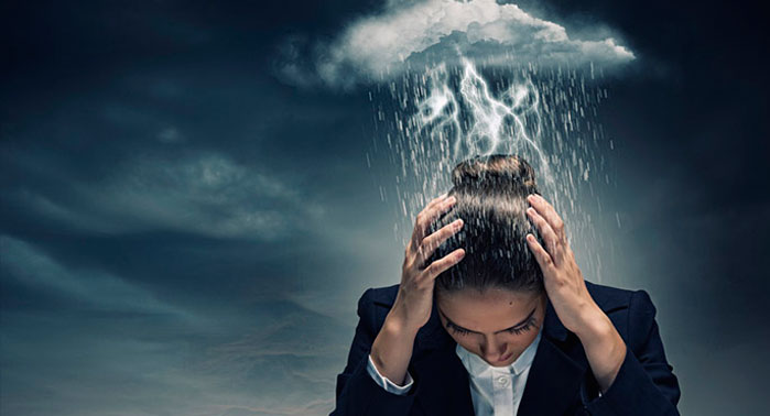pensamientos de la depresión