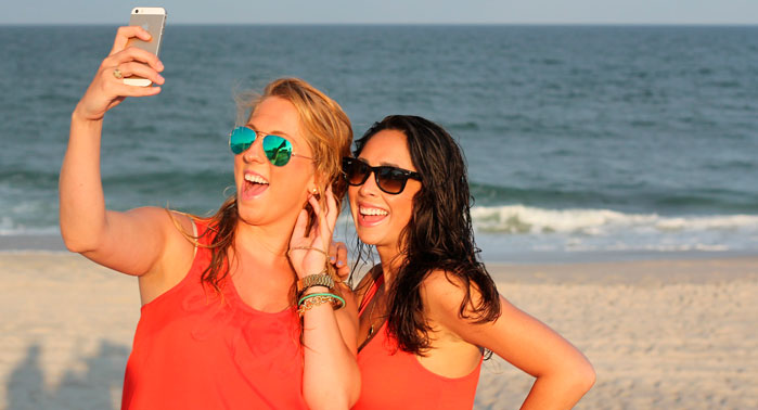 chicas adictas selfie