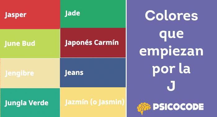 colores j