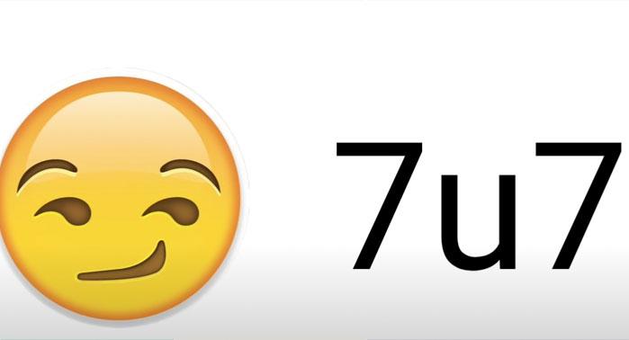 Qué significa 7u7